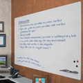 MooreCo™ Elemental Frameless Whiteboard & Projection Board - 1-1/2 ft.H x 2 ft.W