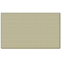 ghent® Fabric Wrapped Bulletin Board - 3 ft.H x 4 ft.W