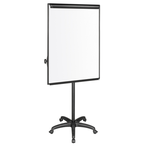 Silver Easy Clean™ Dry-Erase Mobile Presentation Easel