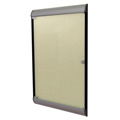 ghent® Silhouette Enclosed Vinyl Bulletin Board