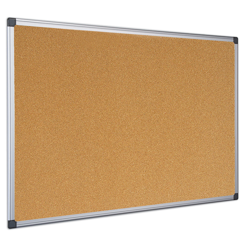 Maya Super Value Cork Bulletin Board - 3 ft.H x 4 ft.W