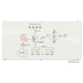 MooreCo® Visionary® White Magnetic Glass Markerboard - 3 ft.H x 4 ft.W
