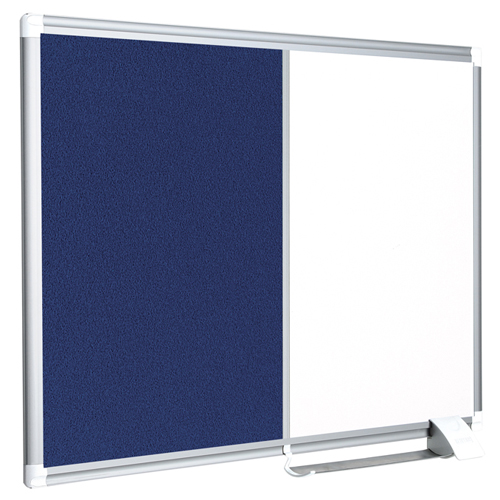 New Generation Magnetic Dry-Erase & Felt Combo Board