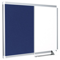 New Generation Magnetic Dry-Erase & Felt Combo Board - 1-1/2 ft.H x 2 ft.W