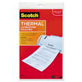 Scotch® Thermal Laminating Pouches - 3-mil, 8-1/2