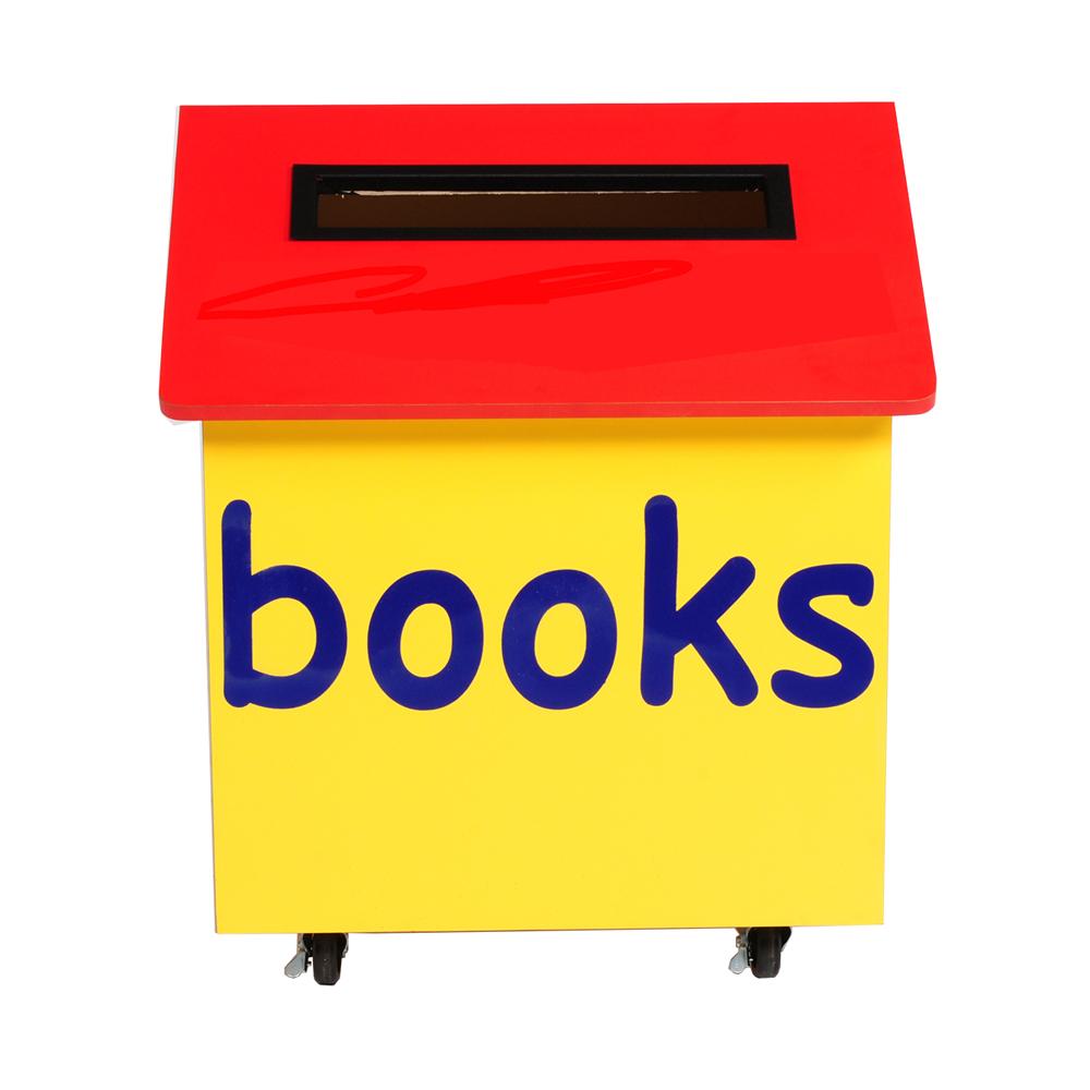 KINGSLEY duraWood™ Children's Indoor Book Return