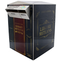 American Book Returns Designer Outdoor Steel Book Return - 56