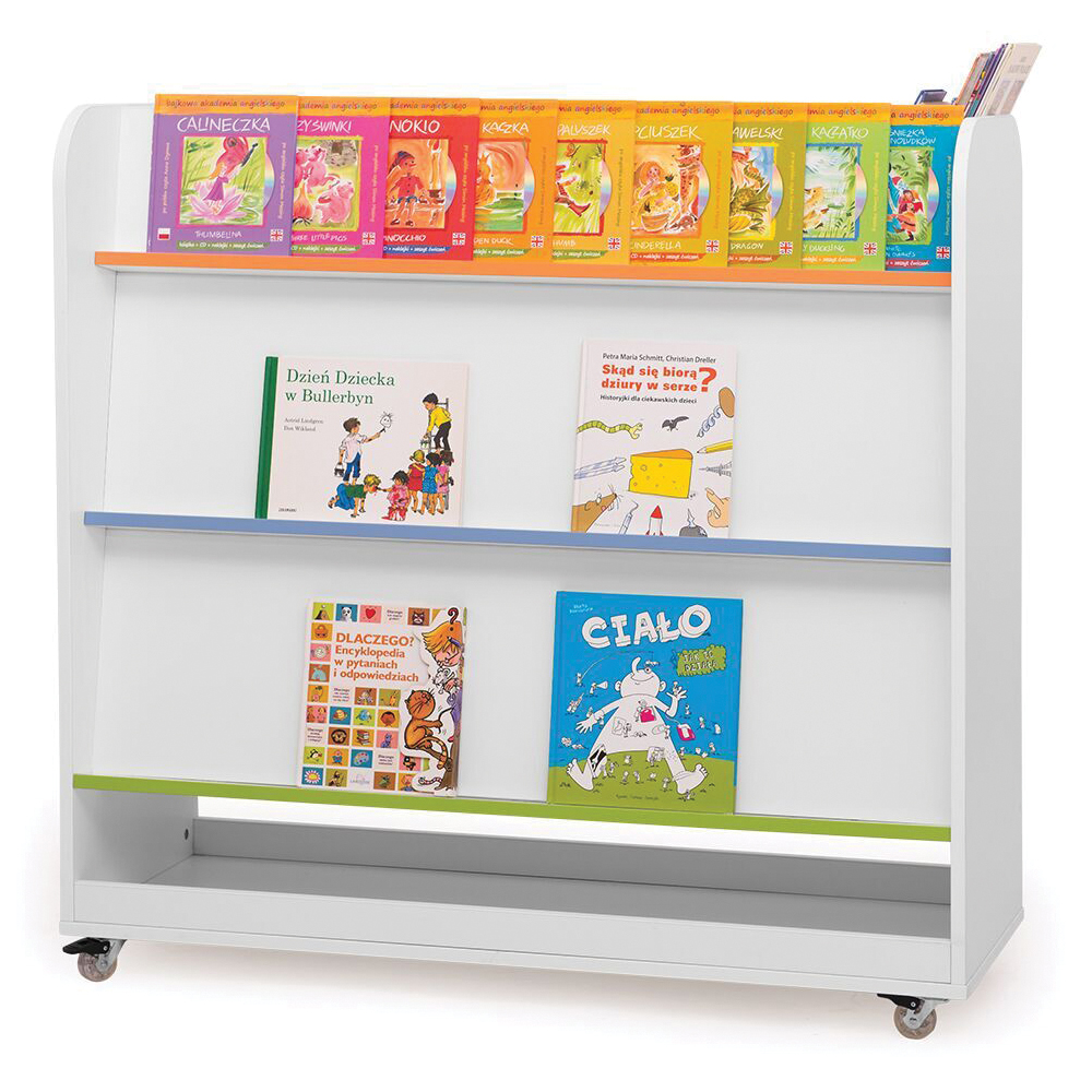 NOVUM® Double-Sided Mobile Book Display