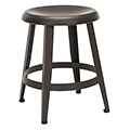 ofm Edge Stools - 18H Steel with Metal Seat