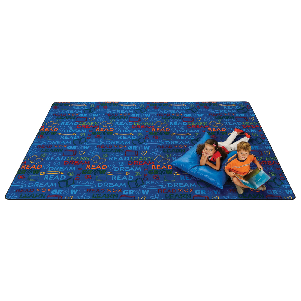 Carpets for Kids Read to Dream Pattern - 6 ft. x 9 ft.