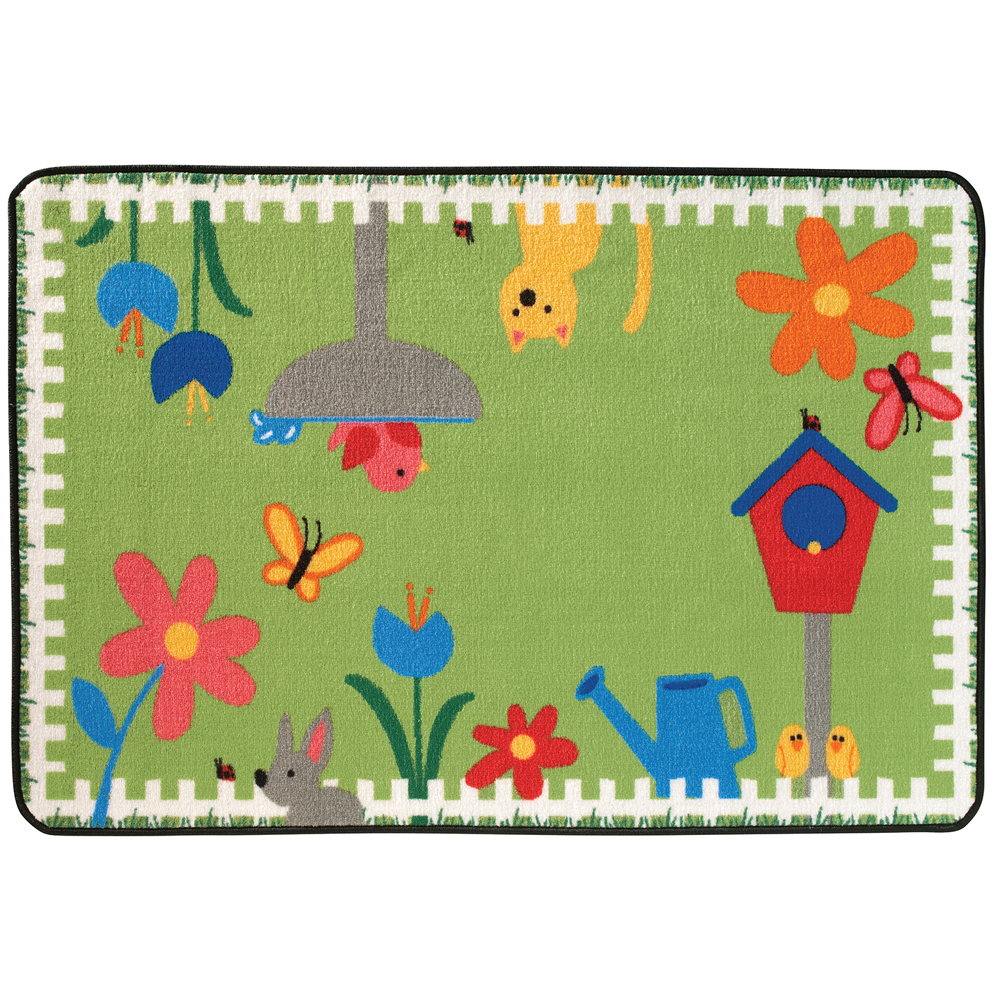 "KIDS Value Rugs™ Garden Time - 4 ft. 6"" x 3 ft."