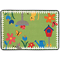 KIDS Value Rugs™ Garden Time - 6 ft. x 4 ft.
