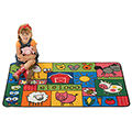 KIDS Value Rugs™ Old MacDonald Farm - 6 ft. x 4 ft.