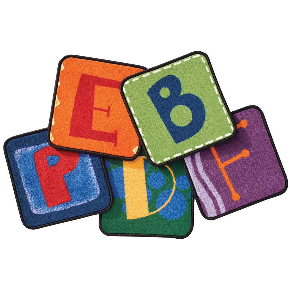 Carpets for Kids Alphabet Blocks Kit