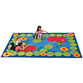Carpets for Kids ABC Caterpillar - 4 ft. 5