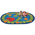 Carpets for Kids ABC Caterpillar - 6 ft. 9