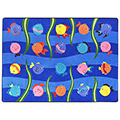 Joy Carpets Friendly Fish™ - 5 ft. 4 x 7 ft. 8 Rectangle