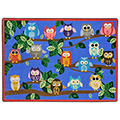 Joy Carpets It's a Hoot™ Children's Reading Carpet - 10 ft. 9