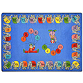 Joy Carpets Circus Elephant Parade™ Children's Carpet - 10 ft 9