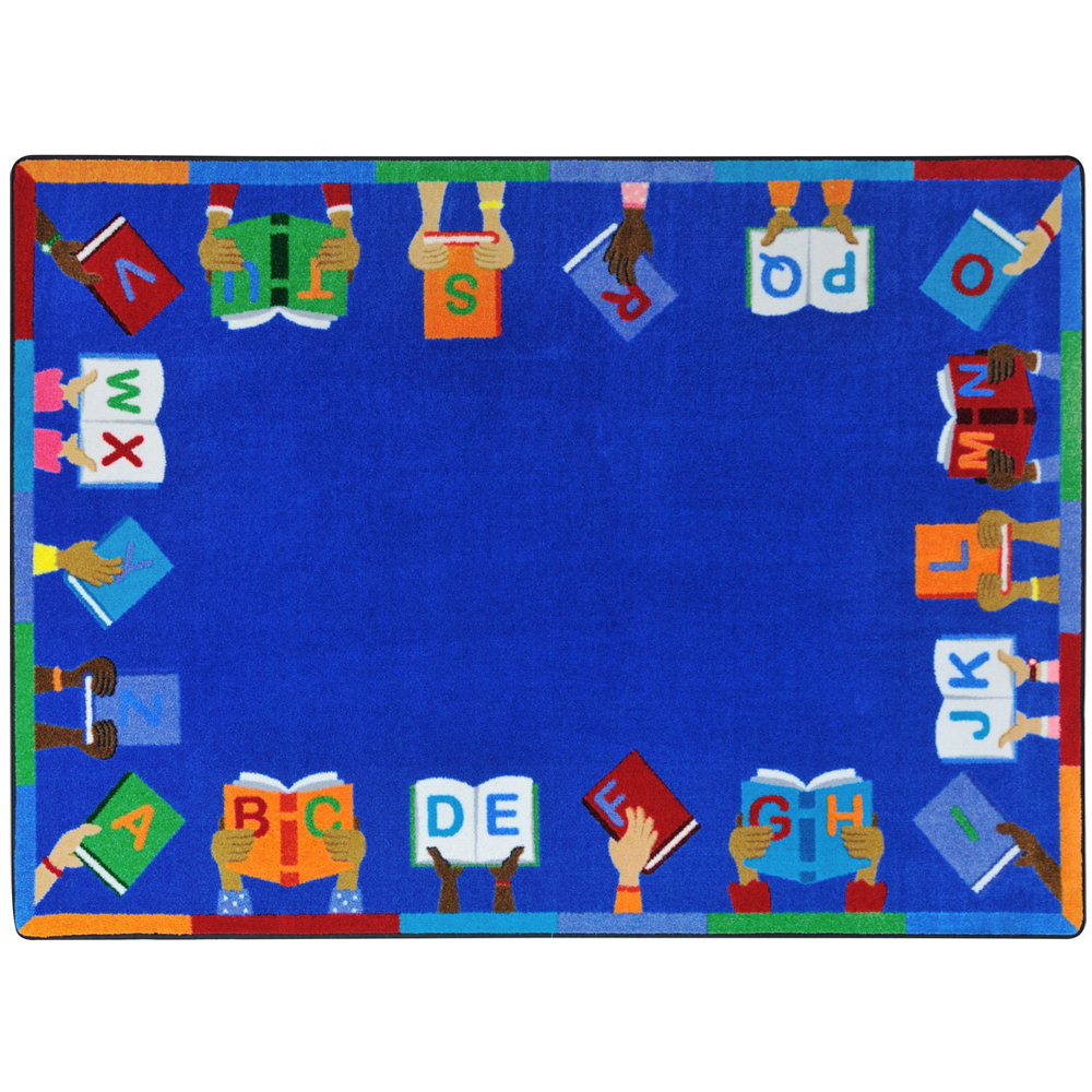 "Joy Carpets Books Are Handy™ - 7 ft. 8"" x 10 ft. 9"""
