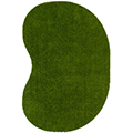 Joy Carpets GreenSpace™ Grass Rug - 4 ft. x 6 ft. Jellybean