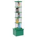 MAR-LINE® Junior Multimedia Rotor Stand - Single Tower, 57