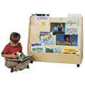 Wood Designs™ Double-Sided Mobile Book Display