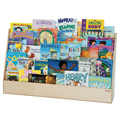Wood Designs™  Double-Sided Big Book Display Stand - X-tra Wide