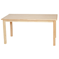 Wood Designs™ Children's Hardwood Table - Rectangle