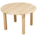 Wood Designs™ Children's Hardwood Table - Round