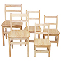 Wood Designs™ Children's Hardwood Chair