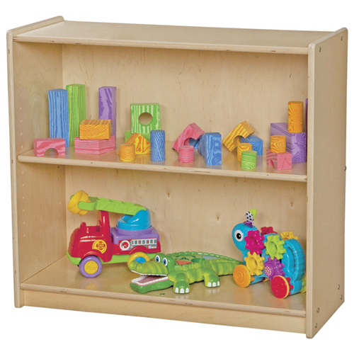 "Wood Designs™ Children's Bookshelf - 2 Shelves, 27-1/4""H"