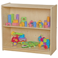 Wood Designs™ Children's Bookshelf - 2 Shelves, 27-1/4