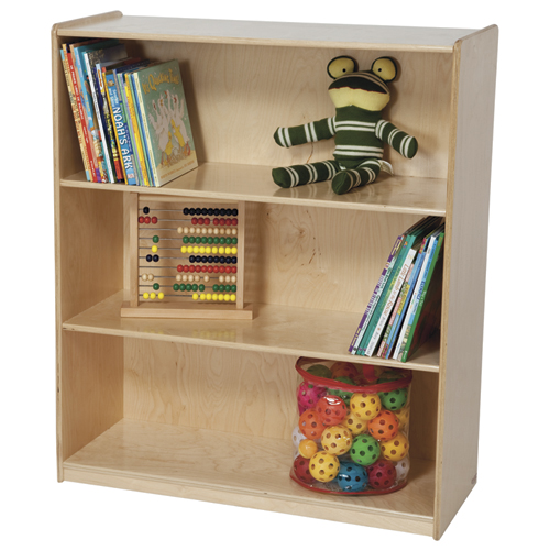 Wood Designs™ Children's Bookshelf - 3 Shelves, 42-1/8 in.
