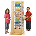 Jonti-Craft® Revolving Literacy Tower - Large