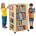 Jonti-Craft® Mobile Literacy Tower - Media Tower