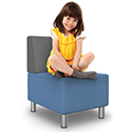 Best-Rite® Kids Modular Soft Seating Collection - Armless Chair