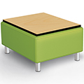 Best-Rite® Kids Modular Soft Seating Collection - Bench w/Laminate Top