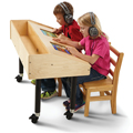 Jonti-Craft® Tablet Table - Double Mobile