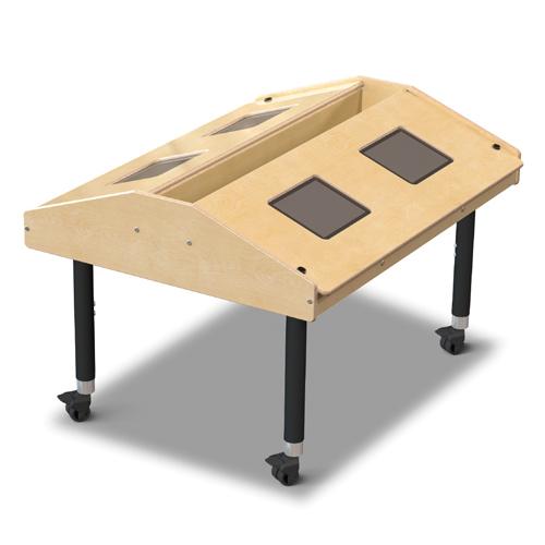 Jonti-Craft® Tablet Table - Quad Mobile