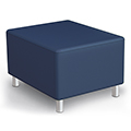 MooreCo® Kids Modular Soft Seating - Bench Upholstered, Fuax Leather