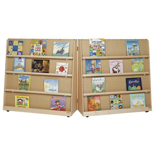 Wood Designs™ Hinged Double-Sided Mobile Book Display