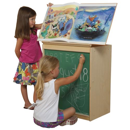 Wood Designs™ Big Book Easel - Chalkboard Front