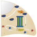 HABA® Interactive Learning Wall - Quarter Circle Right