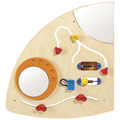 HABA® Interactive Learning Wall - Quarter Circle Left