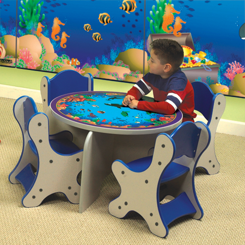 Playscapes® Seascape Table & Chairs