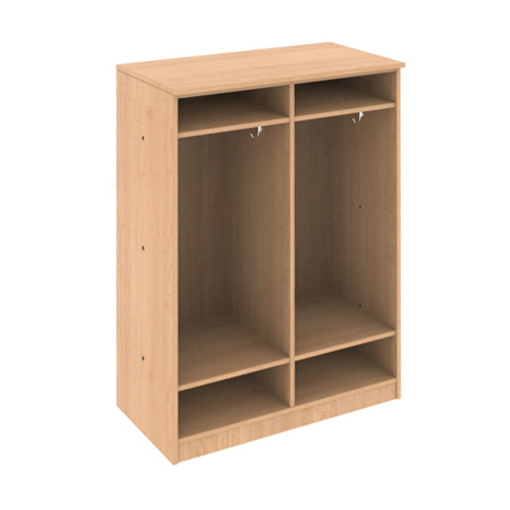 HPFI® Hyperwork Education Storage Unit - 2 Tier Locker