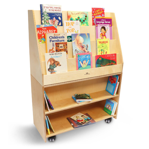 Whitney Brothers® Deluxe Mobile Book Library