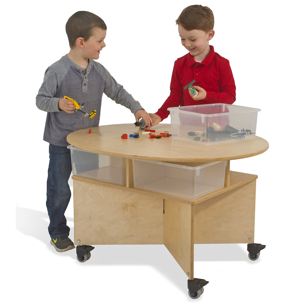 Whitney Brothers® Mobile Collaboration Table