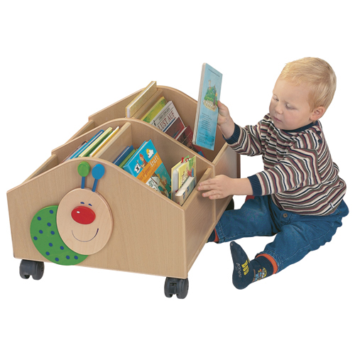HABA® Willy the Bookworm Rolling Library - Small